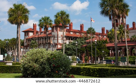 St. Augustine - Downtown  - stock photo