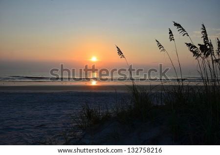 St Augustine Sunrise - stock photo