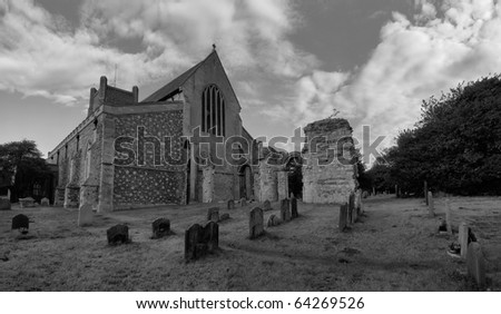 St Bartholomew church in Orford Suffolk england
