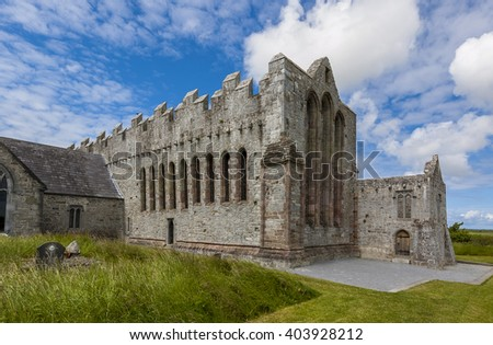 St. Canice's Cathedral  - stock photo