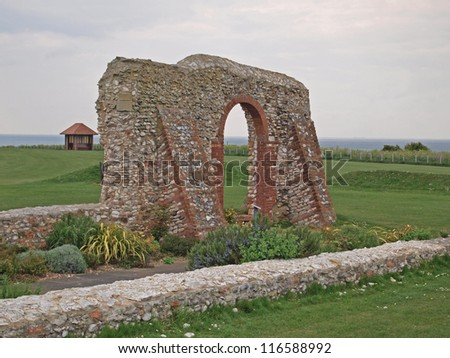 St Edmunds Chapel, built in 1272 in memory of St Edmund who landed on Hunstanton beach in 855AD, He was the patron Saint of England untill St George following the crusades.