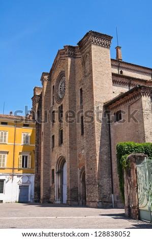 St. Francesco del Prato Church. Parma. Emilia-Romagna. Italy. - stock photo