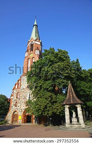 St.George's Roman Catholic Church in Sopot, Poland - stock photo
