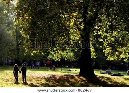 St James Park, London - stock photo