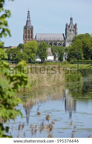 St. John basilica, 's-Hertogenbosch, Noord-Brabant, Netherlands - stock photo