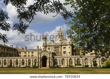St Johns College, Cambridge, England