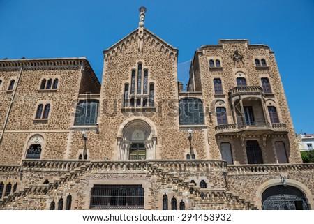 St. Joseph Of The Mountain church in Barcelona, Spain - stock photo