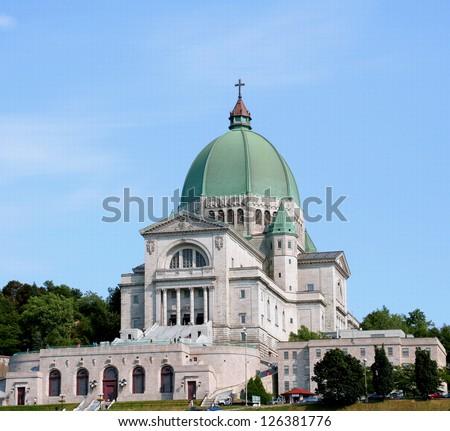 St. Joseph Oratory, Montreal - stock photo