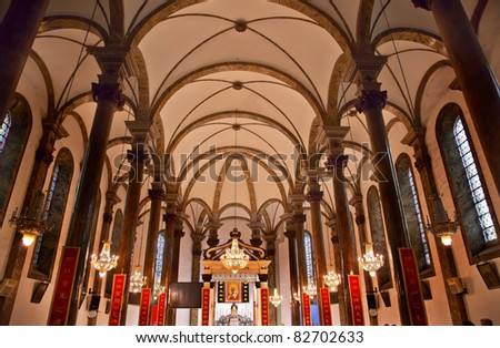 Wangfujing Cathedral Stock Images Royalty Free Images Vectors Shutterstock