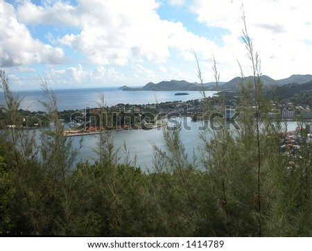 St. Lucia - stock photo