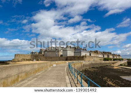 st.Malo - stock photo