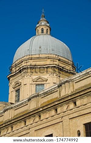 St. Maria degli Angeli Basilica. Assisi. umbria. Italy. - stock photo