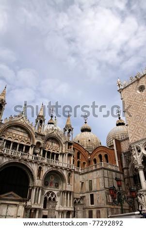 St Mark's Basilica, Venice, Italy - stock photo