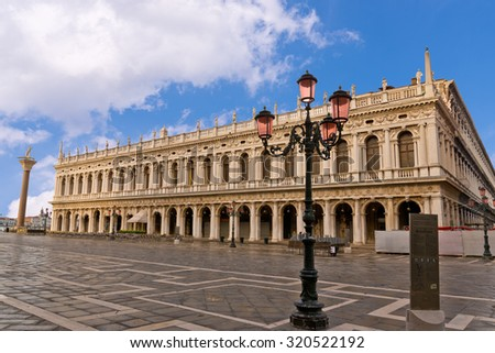 St. Marks Square Venice Italy - stock photo