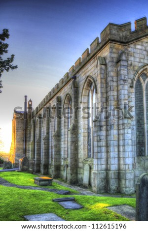St. Martin's Parish Church, Brighouse, Calderdale, West Yorkshire,UK. (HDR image)