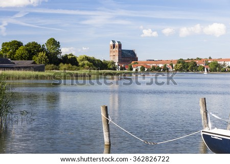 St Mary Church in Prenzlau, germany