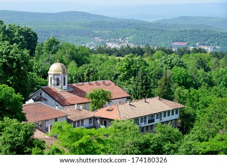 St. Nicholas Convent in Arbanasi near Veliko Tarnovo, Bulgaria - stock photo