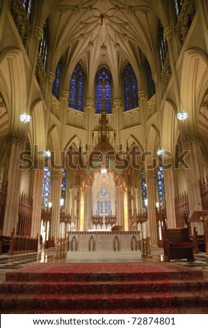 St. Patrick's Cathedral alter