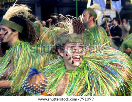 St. Patricks Day Parade - stock photo