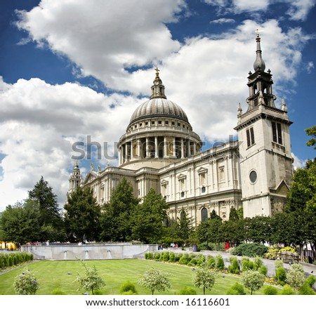 St Paul - stock photo