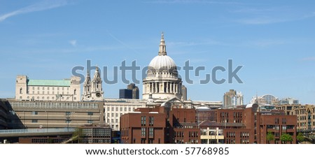 St Paul's Cathedral in London, United Kingdom (UK)