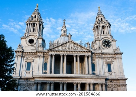 St Paul's Cathedral, London - England