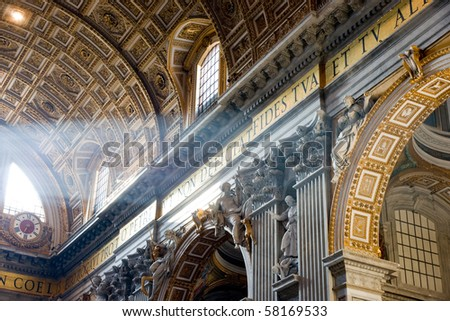 St Peter cathedral - stock photo