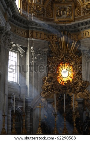 St. Peter's Basilica, Vatican City, Italy - stock photo