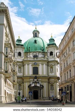 St. Peter's Church, Vienna, Austria - stock photo
