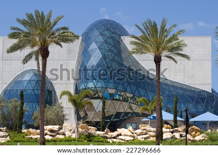 St. Petersburg, Florida, USA   April 13: The New Salvador Dali Museum