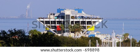 St. Petersburg Pier - stock photo
