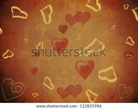 St. Valentine 's Day bokeh, texture or background - stock photo