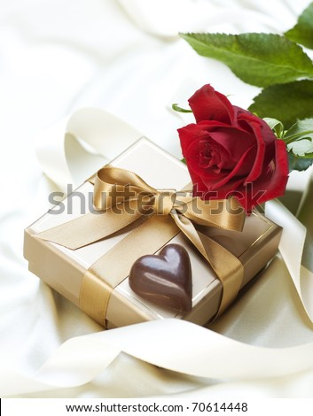 St.Valentine's Gift - stock photo