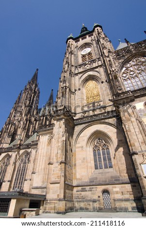 St. Vitus Cathedral portal, Prague