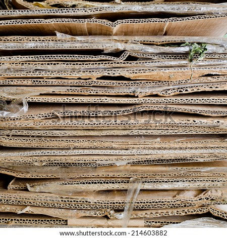 stack crepe paper background - stock photo