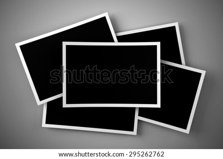 Stack of blank images