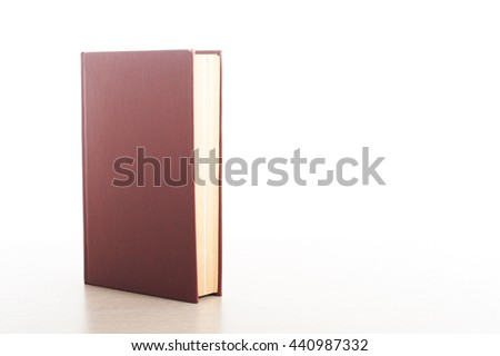 Stack of books on white background. Education concept. Back to school - stock photo