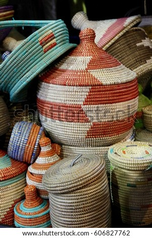 Cool African Traditional Basket - stock-photo-stack-of-colorful-traditional-african-woven-baskets-606827762  Perfect Image Reference_258498.jpg