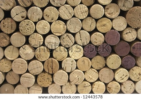 Stack of corks