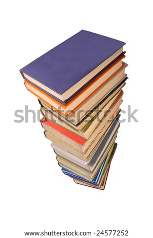 Stack of old books 5