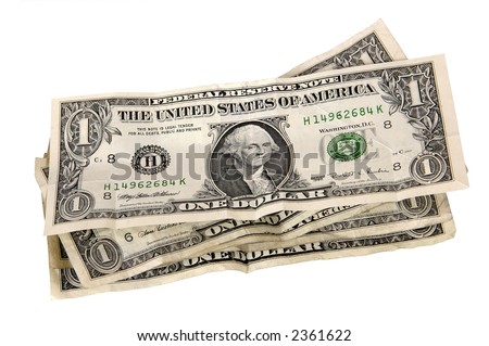 stack of US dollar bills