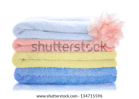 Stacked Towels