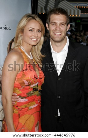 Stacy Keibler at the World premiere of 'The Break-Up' held at the Mann Village Theatre in Westwood,  USA on May 22, 2006. - stock photo