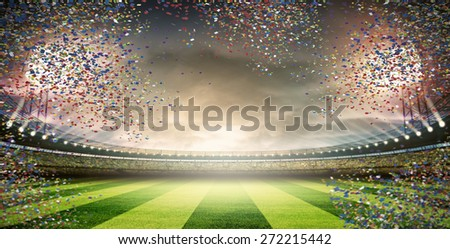 Stadium - stock photo