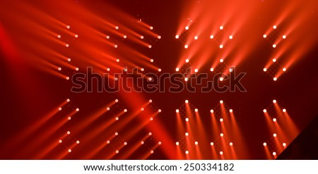 Stage lights -  - stock photo