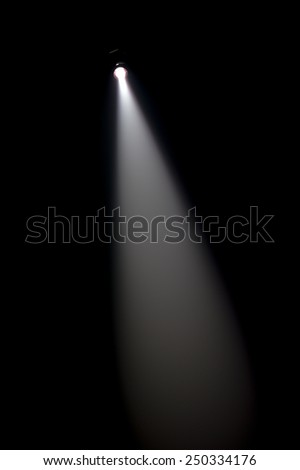Stage lights-Black and White  - stock photo