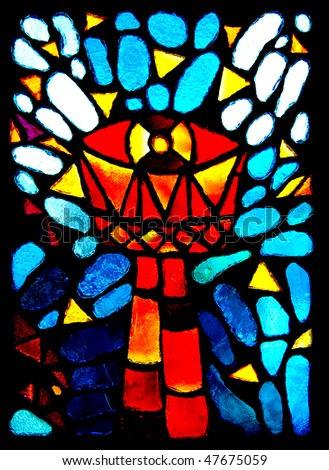 Stained Glass Eucharist