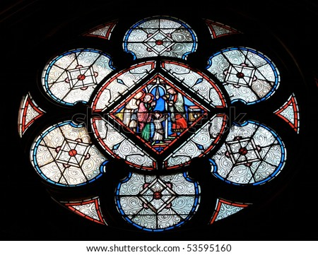 how to cut and shape stained glass