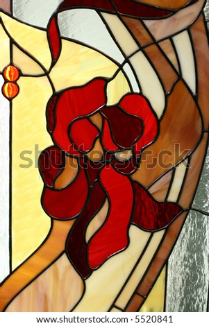 Stained-glass window 2 - stock photo