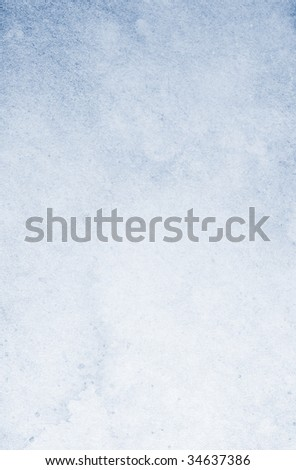 Stained gradient blue vintage background. Textured surface. - stock photo